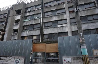 自立支援施設の廃墟-大阪・馬淵生活館-