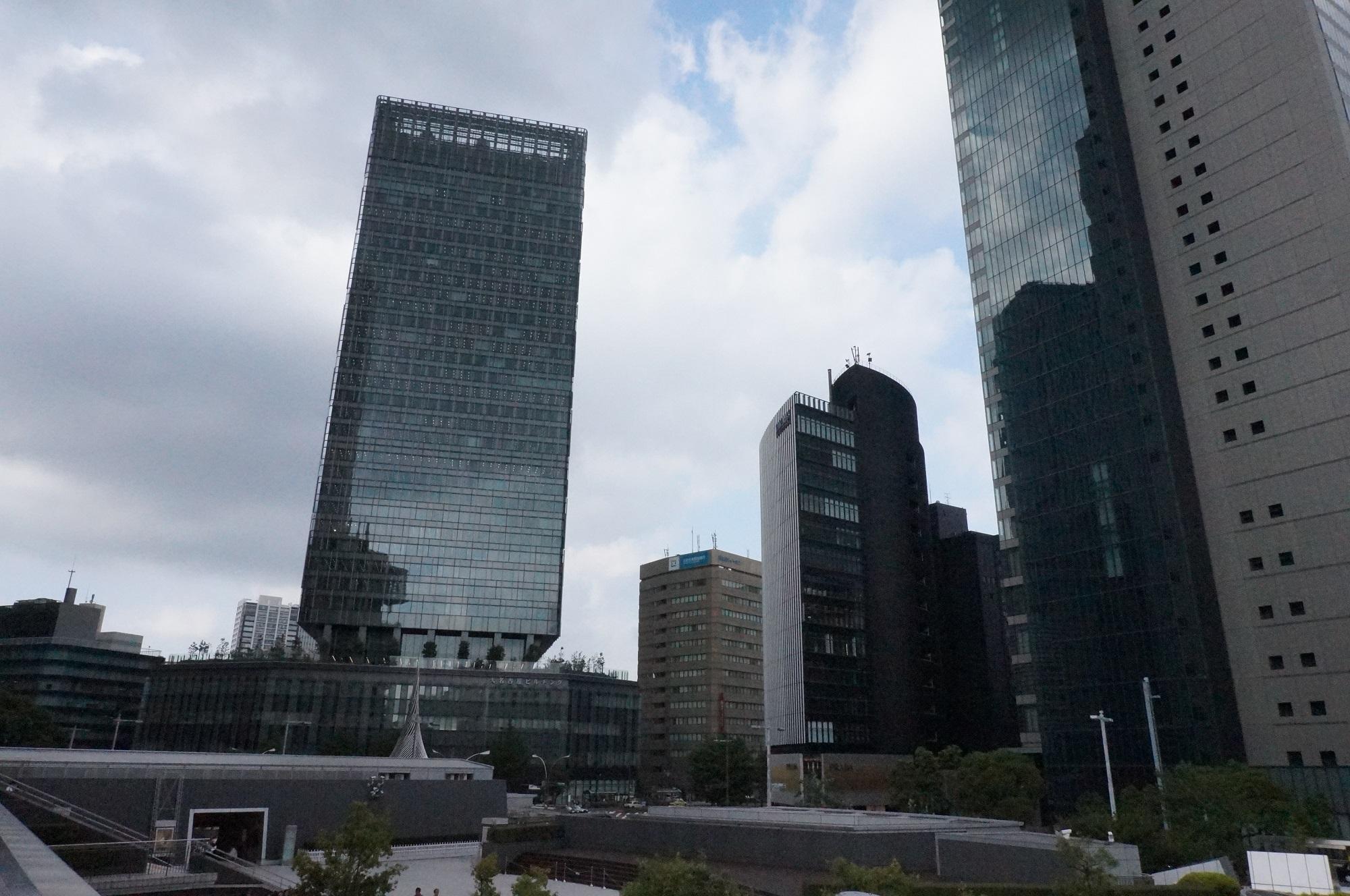 再開発に沸く名古屋駅