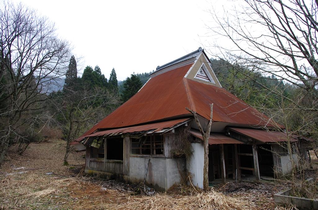 京都・久多の廃屋