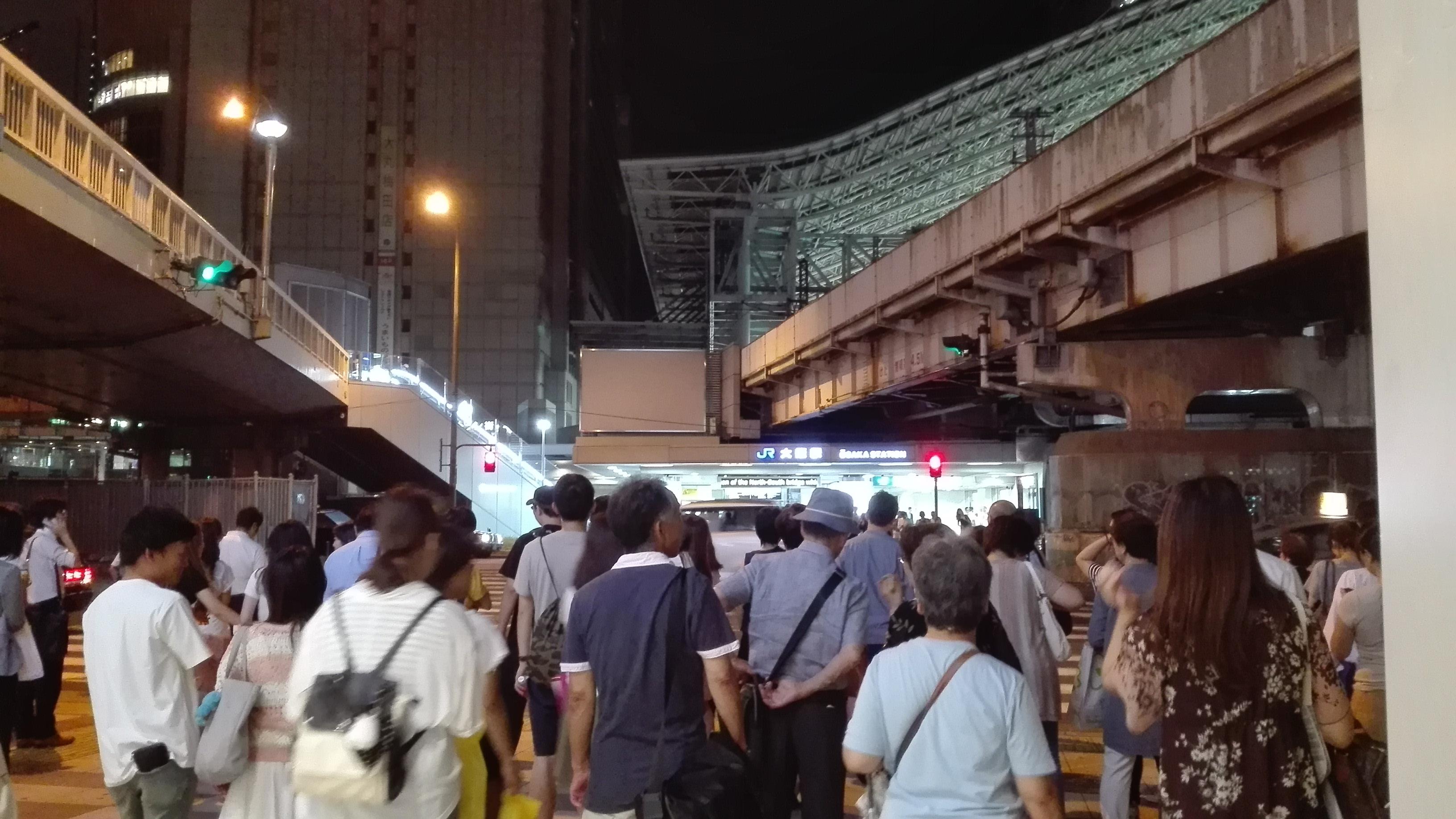 都会の心霊スポット・泉の広場(大阪)