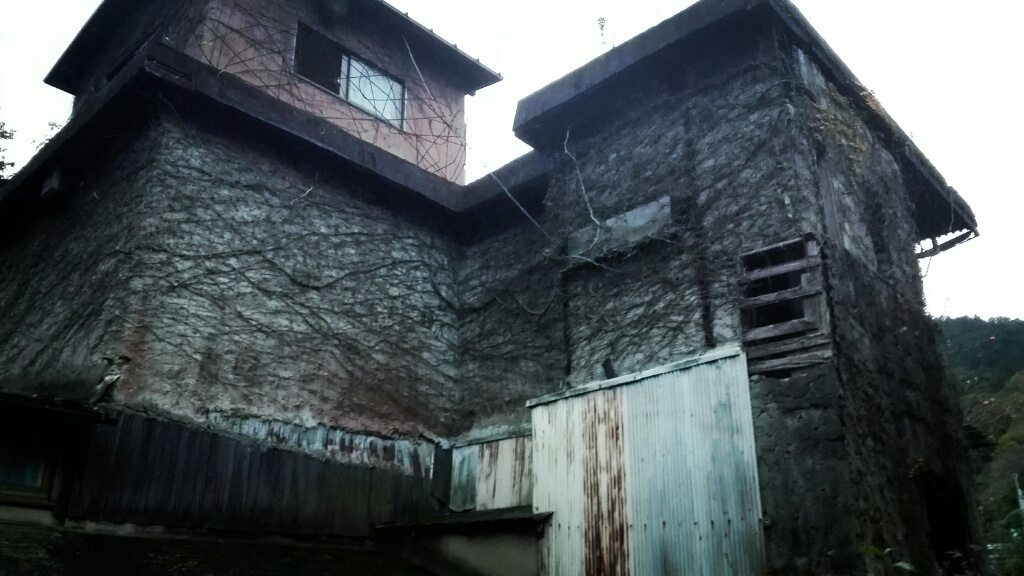 全和凰美術館の廃墟を訪れた