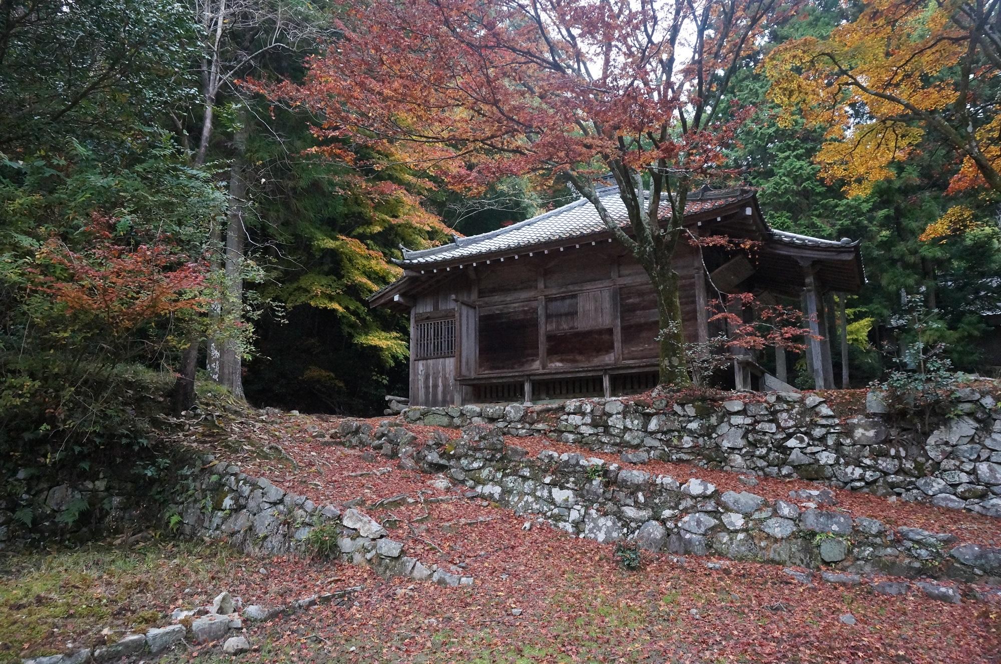 映画「るろうに剣心」の舞台になった廃寺 | 滋賀・安楽律院跡