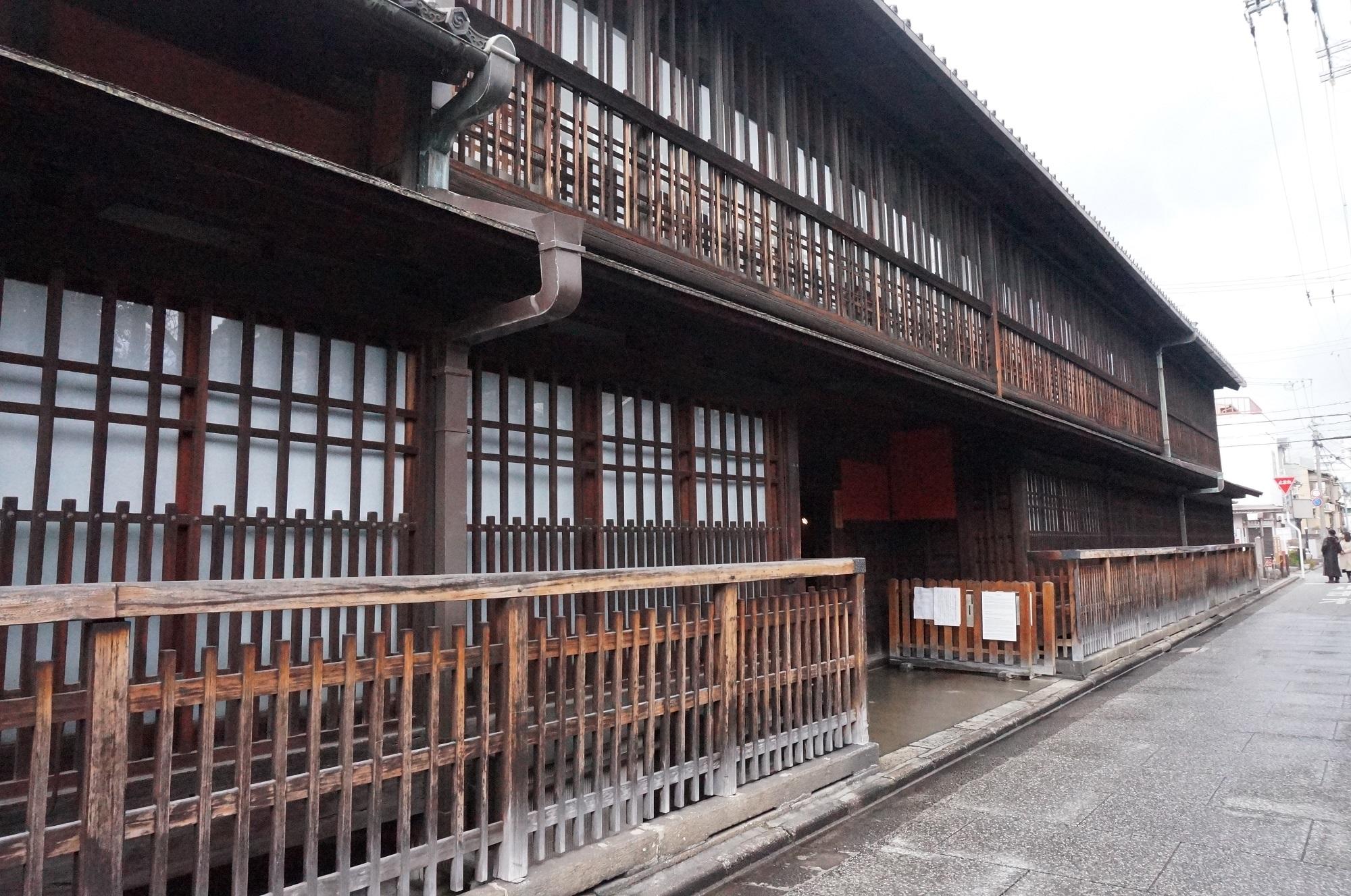 京都の六花街のひとつ 島原遊郭を訪れた