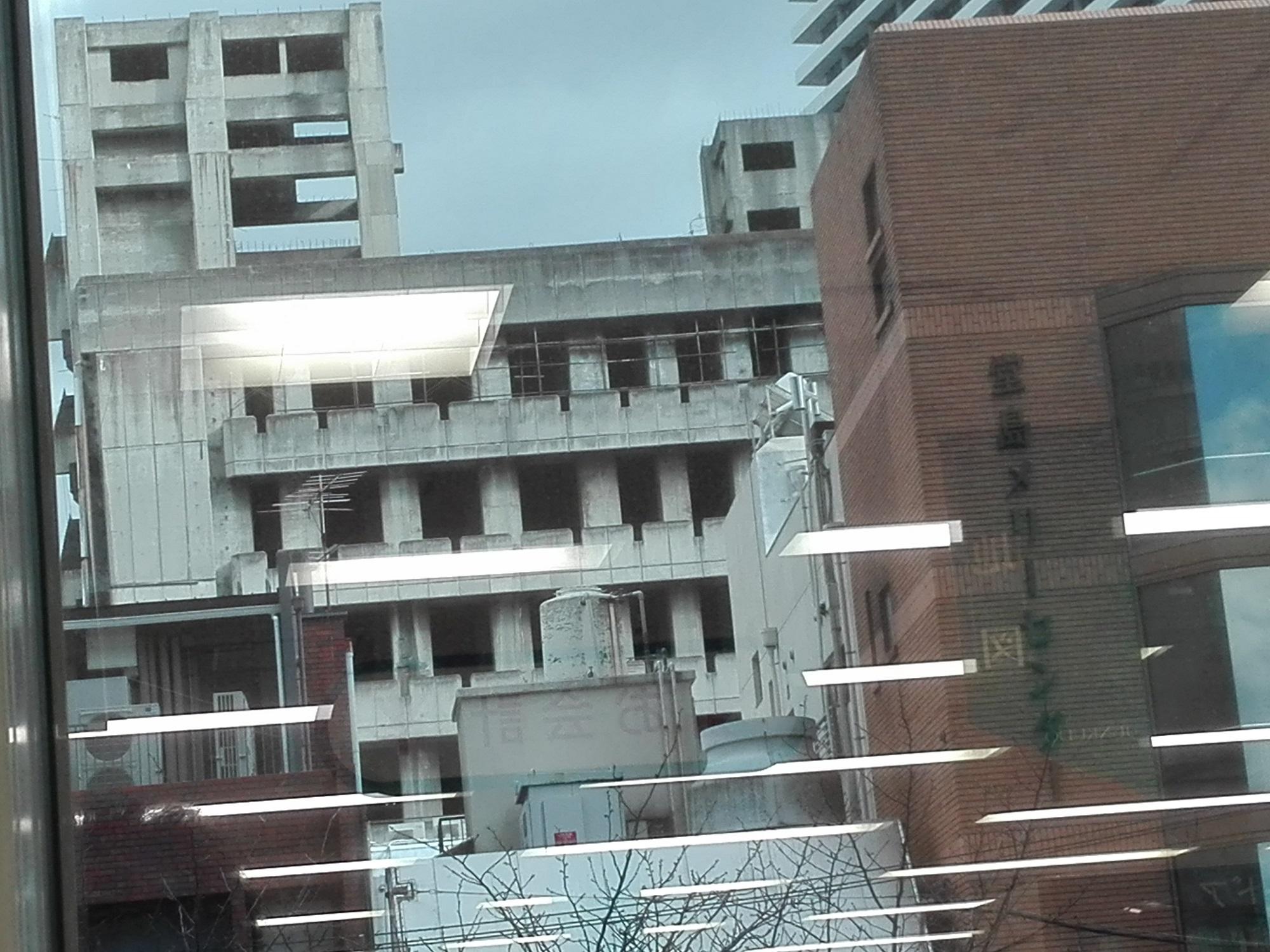 北新地の廃墟ビルを見てきた