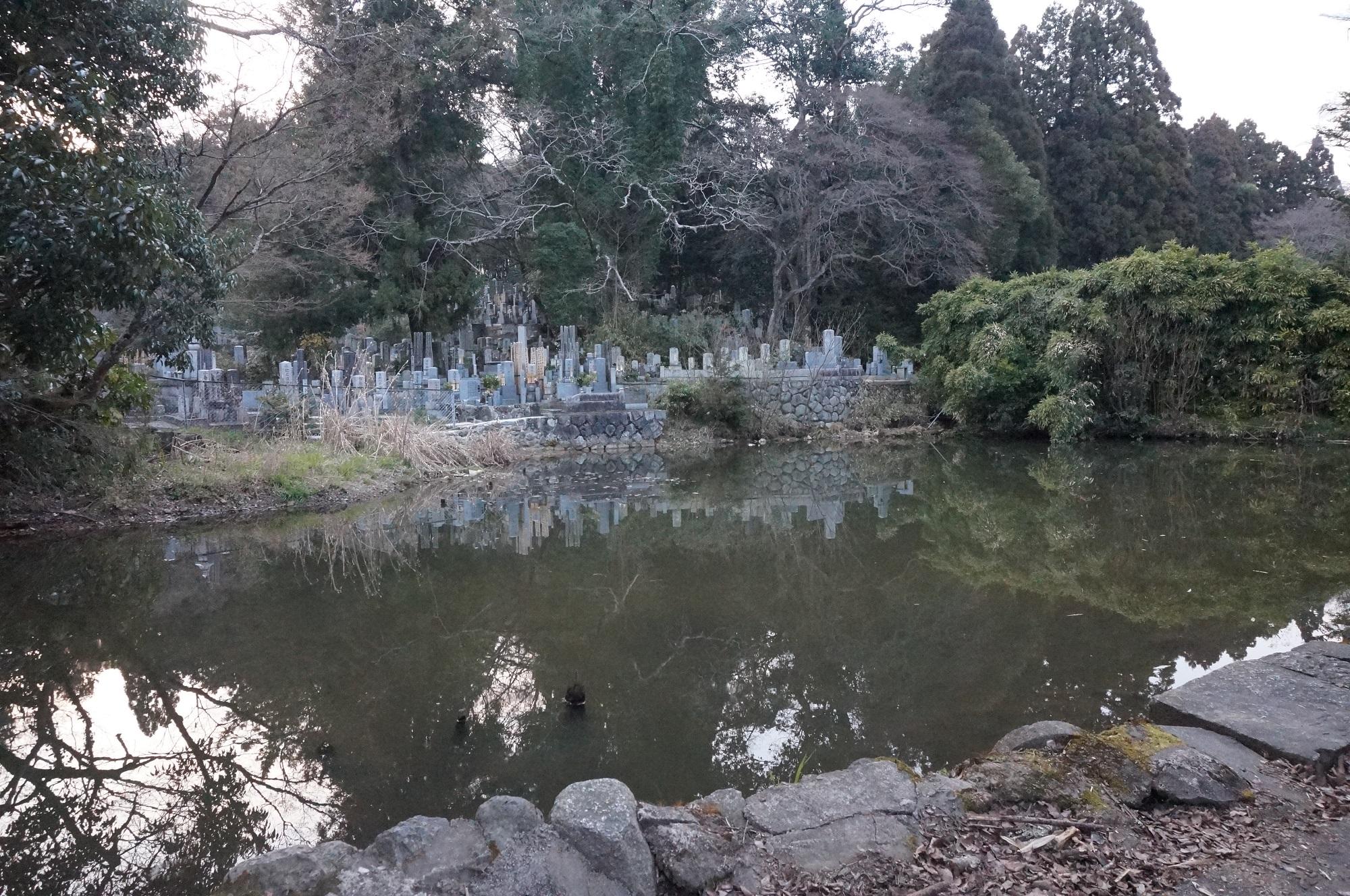 京都のミステリースポット 墓池に行ってみた