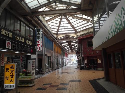 寂れた商店街 和歌山駅前のみその商店街
