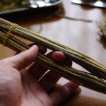 藁人形の作り方を伝授